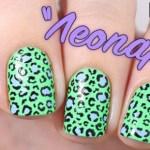 леопардовый маникюр - это просто