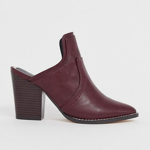 Обувь мюли, виды и фасоны, с чем носить туфли: 33 фото