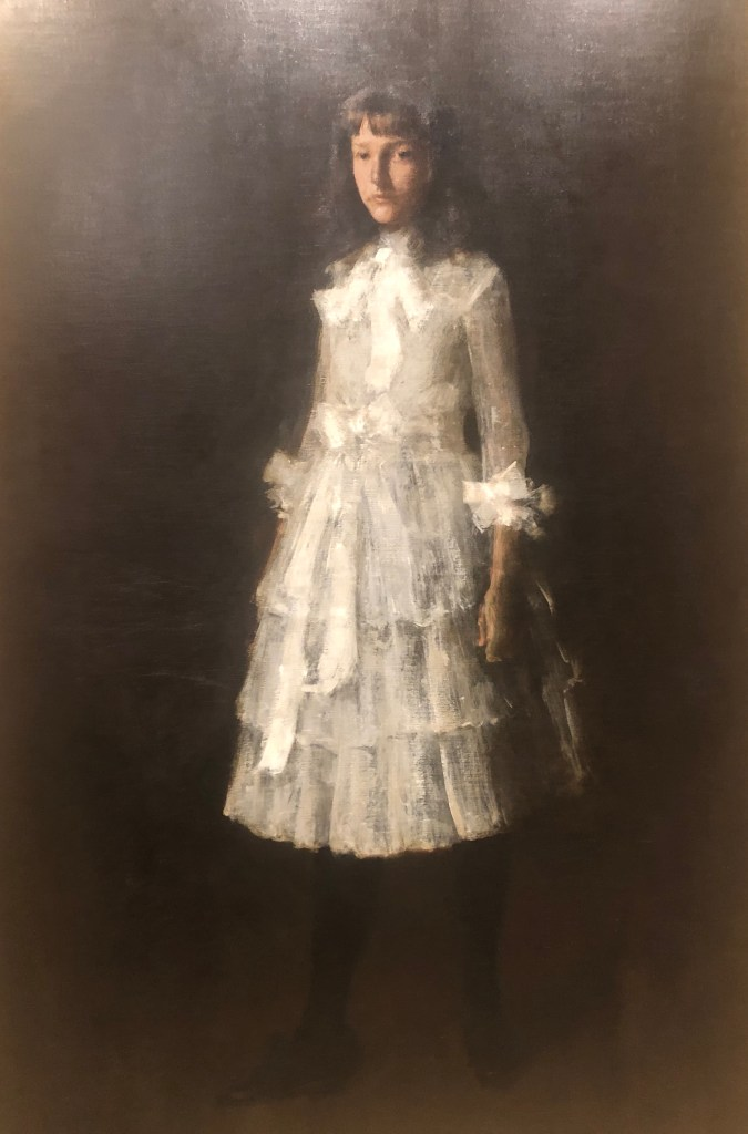 William Merritt Chase, Portrait of My Sister Hattie