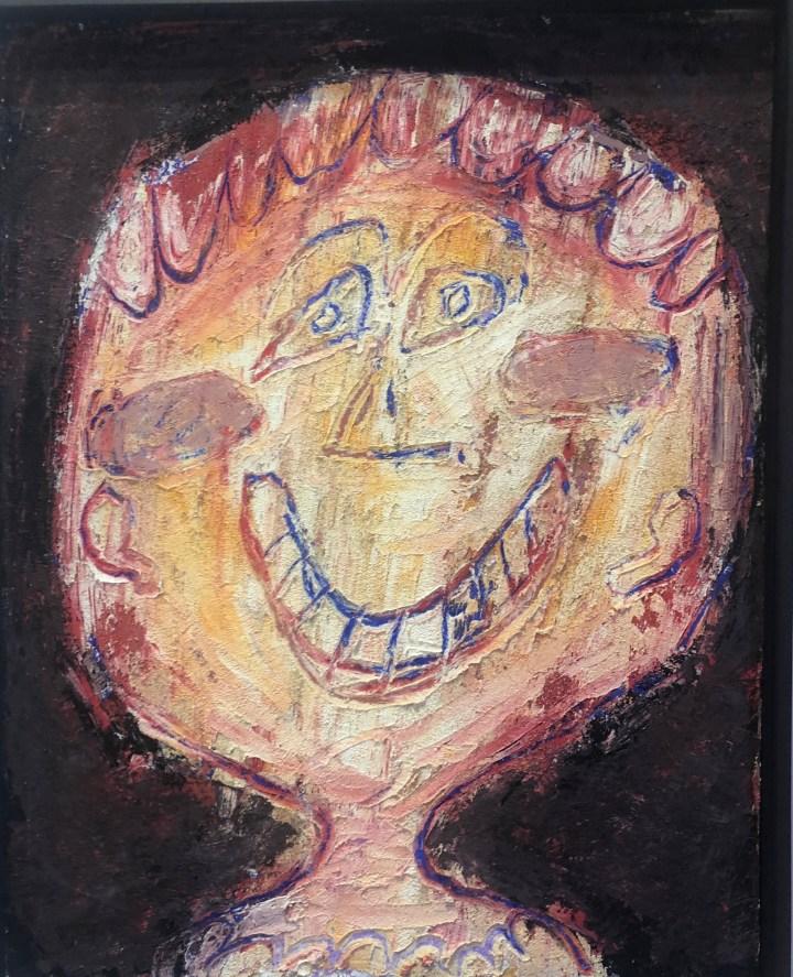 Jean Dubuffet, La Bouche en Croissant