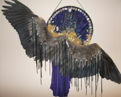 Starfeather Supporter Photo 8 drum with wings