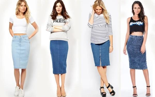 Юбка-карандаш: с чем носить самую популярную юбку?