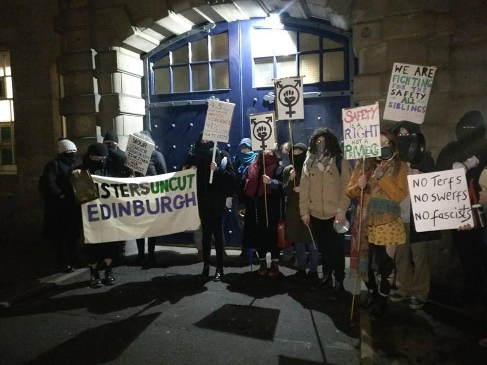 edinburgh protest