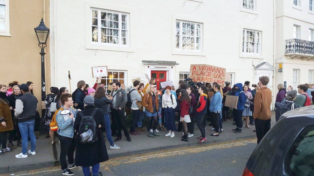 oxford protest