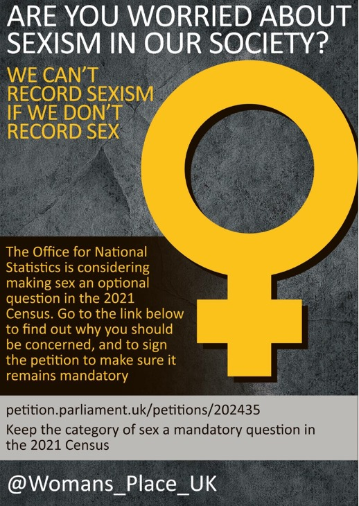 WPUK Petition: Sex and the Census