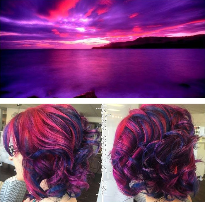 This Galaxy Hair Trend Is Out Of This World Womans Vibe
