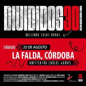 Divididos: 30 años haciendo cosas raras @ Anfiteatro Municipla Carlos Gardel
