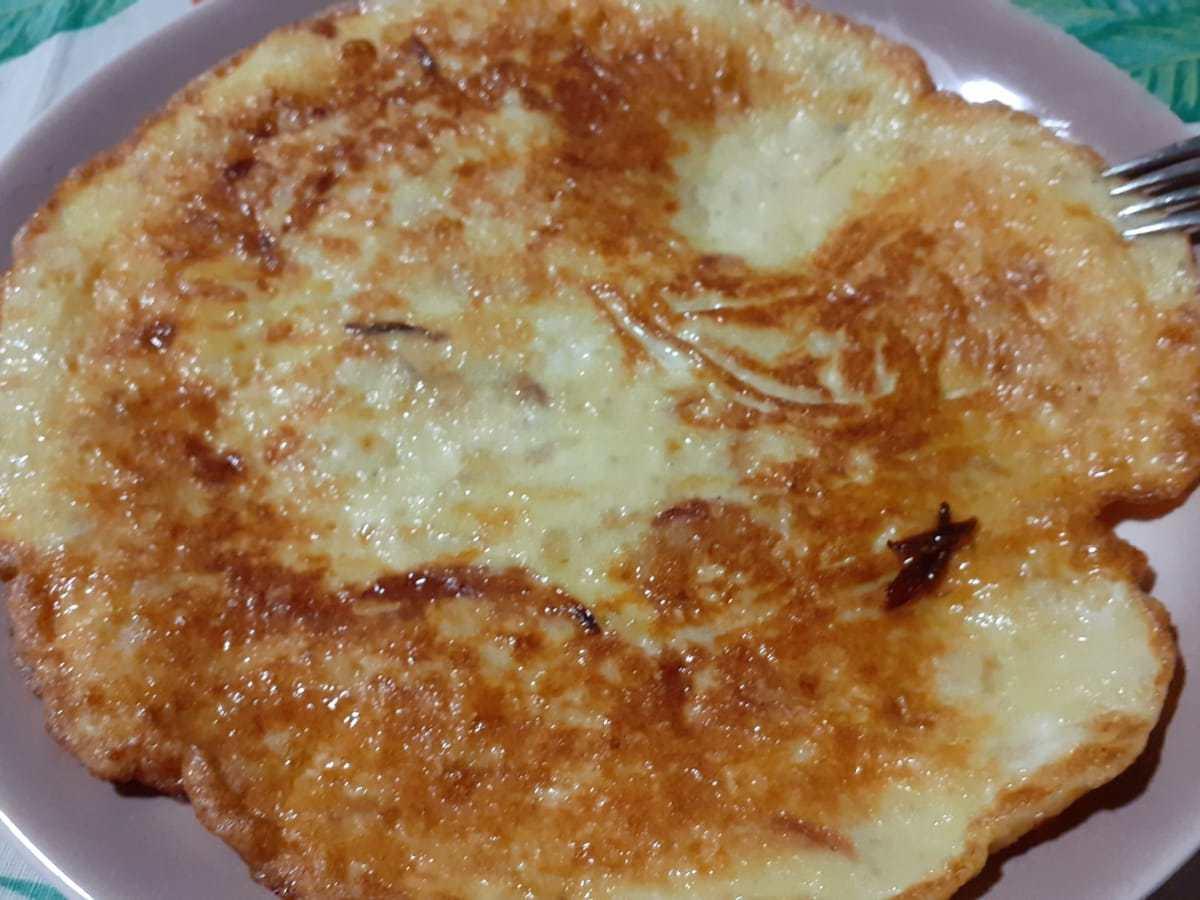 frittata di patate e cipolla