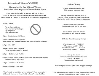 Page 2 of our double-sided handout