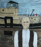 Skipper Johannes Hansen 2009 • 40 x 46 cms