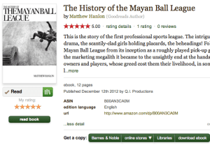 MBL on Goodreads.com