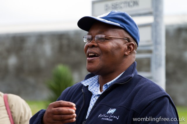 Imprisoned on Roben Island for 7 years, our guide was passionate and inspiring.