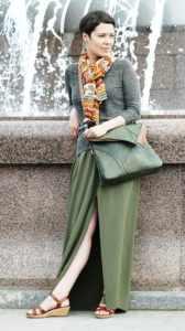 Shoulder Bags Designer. Leaf Maxi by Diana Ulanova. Buy on women-bags.com