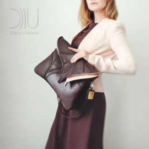 Shoulder Bags Designer. Leaf Maxi 2 by Diana Ulanova. Buy on women-bags.com