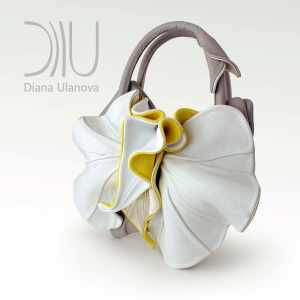 Designer Handbag. Orchid New 3 by Diana Ulanova. Buy on women-bags.com