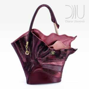 Handbags For Women Designer. Strelitzia Burgundy by Diana Ulanova. Buy on women-bags.com