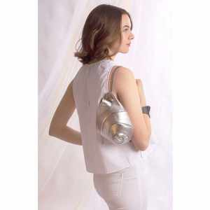 Designer Small Bags. Escargot Mini Silver by Diana Ulanova. Buy on women-bags.com