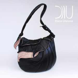 Designer Shoulder Bags. Autumn Legend Black 4 by Diana Ulanova. Buy on women-bags.com