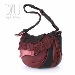 Over The Shoulder Designer Bags. Autumn Legend Burgundy 3 by Diana Ulanova. Buy on women-bags.com