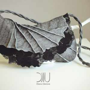 Designer Clutch Bags For Sale. Filigree Clutch Grey 1 by Diana Ulanova. Buy on women-bags.com