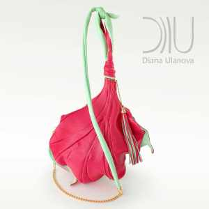 Over The Shoulder Bags Designer. Fleur De Lys - Pink 4 by Diana Ulanova. Buy on women-bags.com
