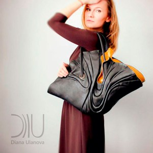 Designer Womens Handbag. Ginkgo 1 by Diana Ulanova. Buy on women-bags.com