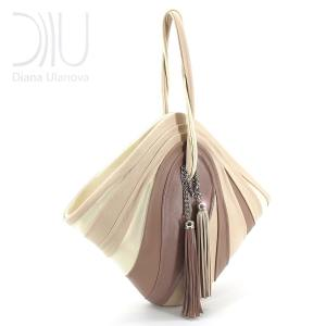 Female Designer Handbags. Mignon Beige 2 by Diana Ulanova. Buy on women-bags.com