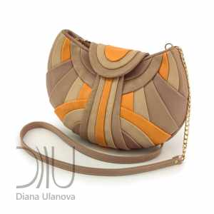 Over The Shoulder Designer Bags. Modern Beige/Yellow by Diana Ulanova. Buy on women-bags.com