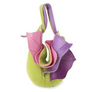 Shoulder Bags Designer. Orchid Green Purple 1 by Diana Ulanova. Buy on women-bags.com