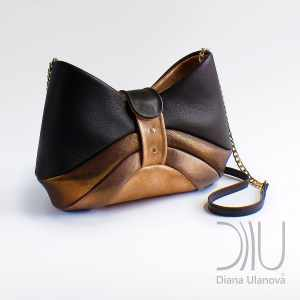Shoulder Bags Designer. Bow Black/Gold by Diana Ulanova. Buy on women-bags.com