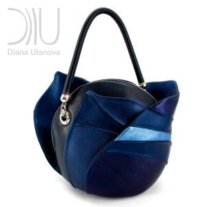 Female Designer Bags. Burgeon Sacvoyage Blue 2 by Diana Ulanova. Buy on women-bags.com