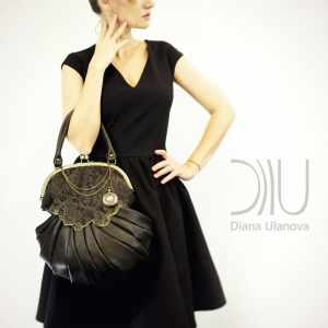 Designer Bags. Retro Black|Retro Black 1|Retro Brown by Diana Ulanova. Buy on women-bags.com