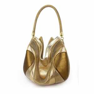 Over The Shoulder Designer Bags. Prana Gold by Diana Ulanova. Buy on women-bags.com