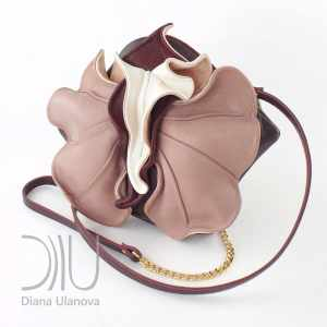 Mini Designer Bags. Orchid Mini Brown/Beige by Diana Ulanova. Buy on women-bags.com
