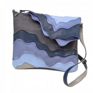 Shoulder Bags Designer. Surf Blue/Grey by Diana Ulanova. Buy on women-bags.com