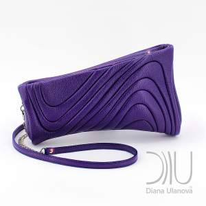Designer Evening Clutch Bags. Antique Purple by Diana Ulanova. Buy on women-bags.com