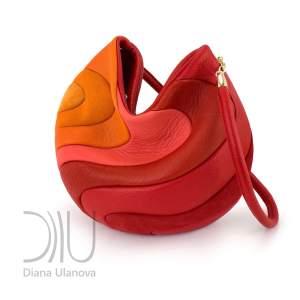 Yin Yang Red Orange