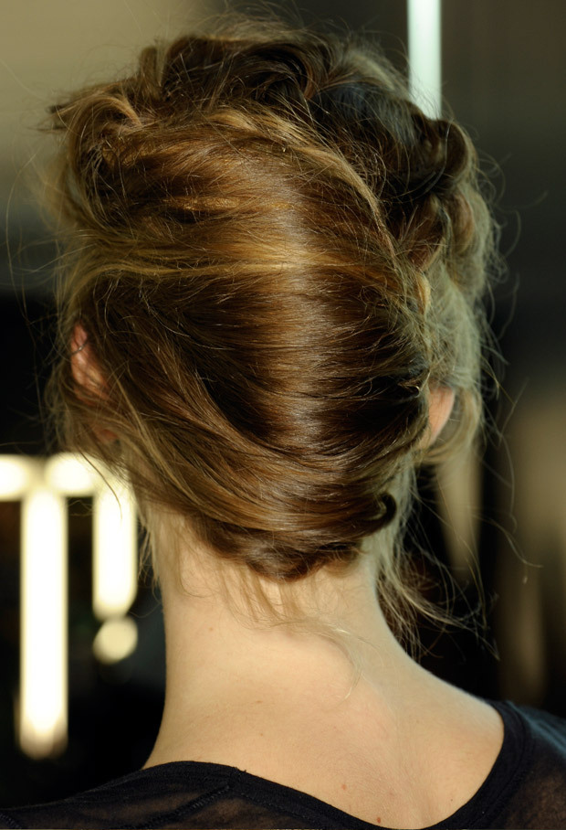 French Twist Chignon Hairstyle Women Hairstyles