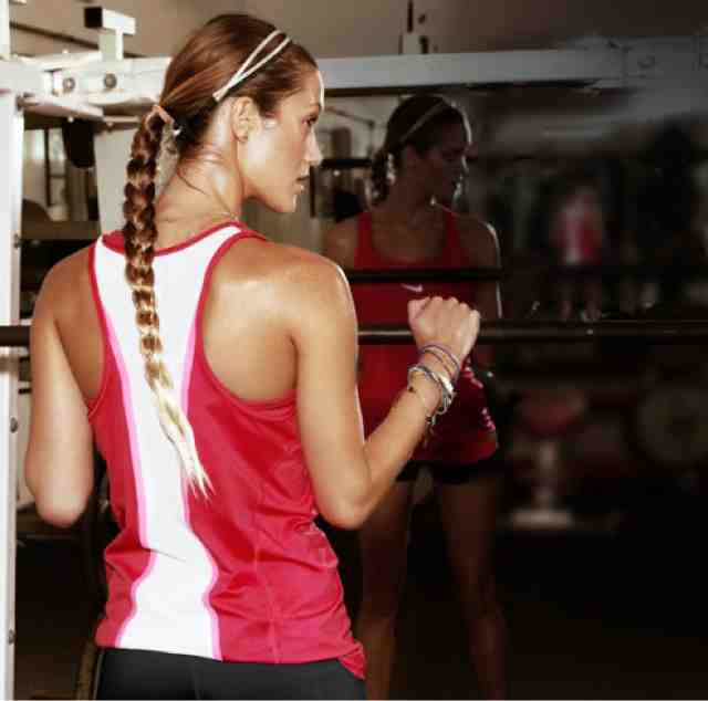 The Best Hairstyles For Working Out At The Gym Women