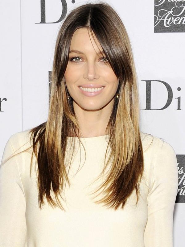 Jessica Biel Splashlight Hair Women Hairstyles