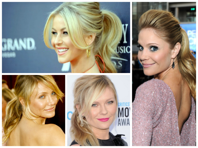 the best ponytail for your face shape - women hairstyles