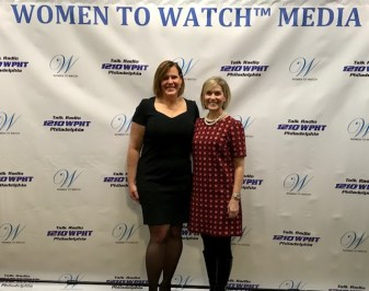 Dawn Zier, President and COO of Tivity Healthy, and Sue Rocco, Founder & Host of Women to Watch Media®.