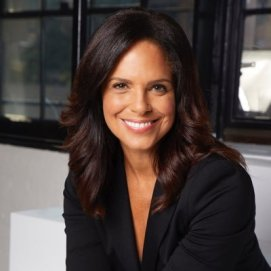 Headshot of Soledad O'Brien an award-winning journalist, speaker, author and philanthropist.
