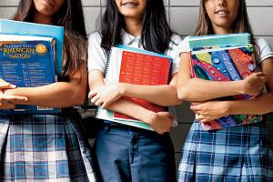 Private school girls