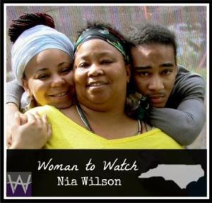Nia Wilson - woman to watch