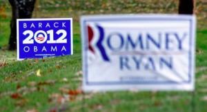 Romney v Obama cropped