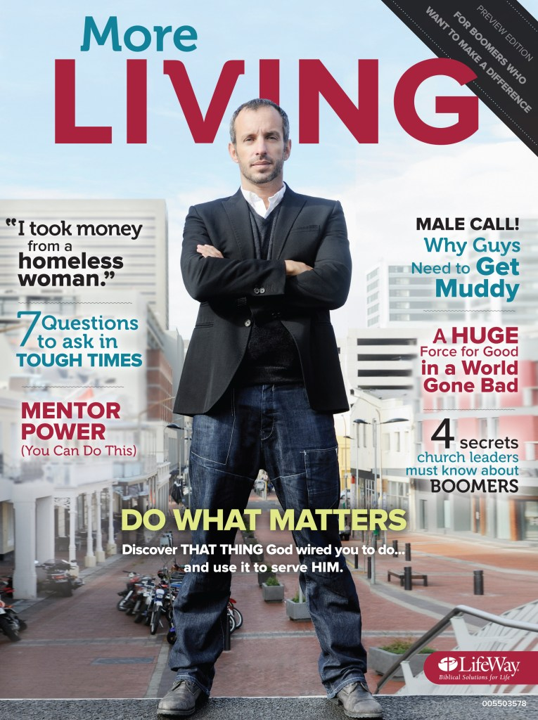 New Magazine for Boomers, More Living Magazine