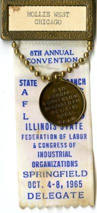 AFL-CIO convention ribbon 1965001