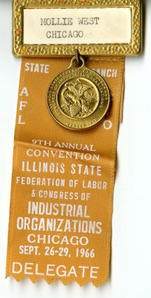 AFL-CIO convention ribbon 1966001