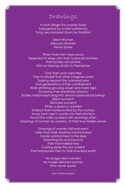 Jean Arasanayagam-Poem